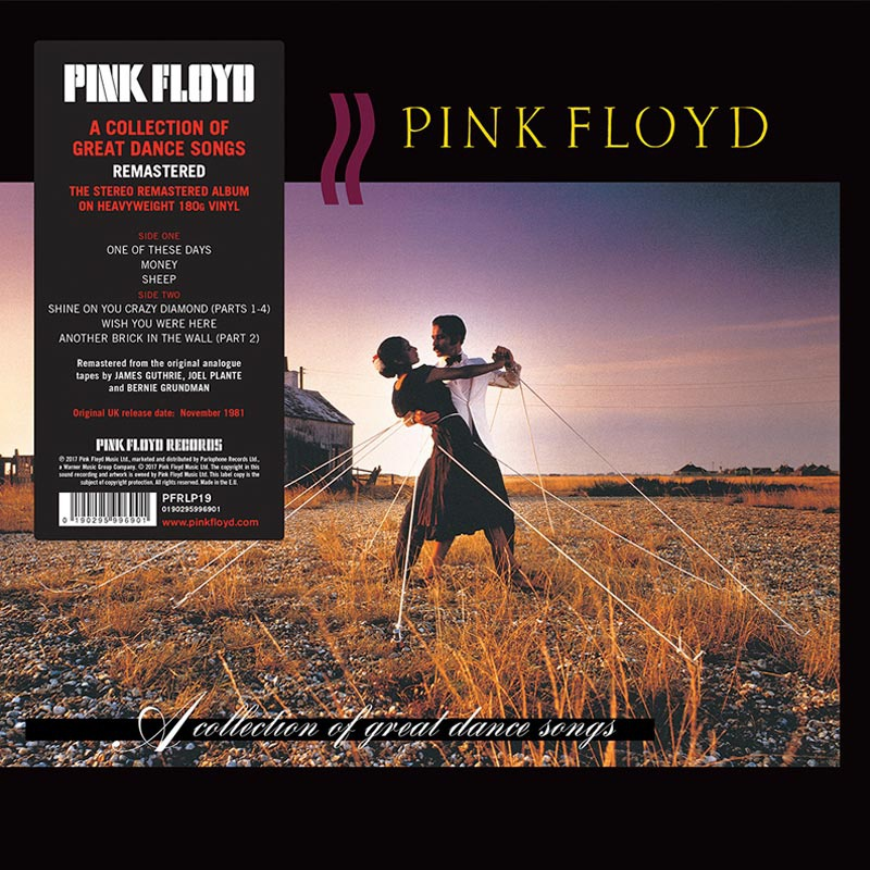 PINK FLOYD RECORDS ПЕРЕИЗДАЛ АЛЬБОМЫ  A COLLECTION OF GREAT DANCE SONGS И  DELICATE SOUND OF THUNDER НА ВИНИЛ